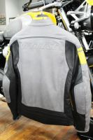 Kurtka motocyklowa Dainese Blackjack - SMOKE/YELLOW/BLACK - 46,52
